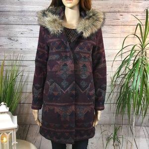 BB Dakota Jacket with Faux Fur hood XS